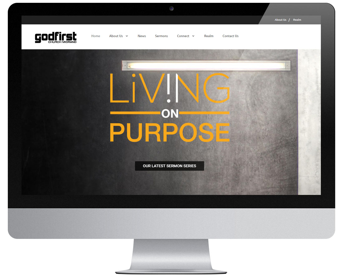Website Godfirst Church Midrand